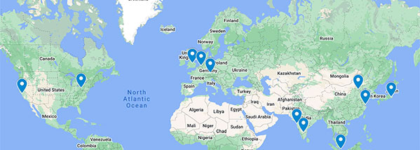 EDAX Worldwide Locations